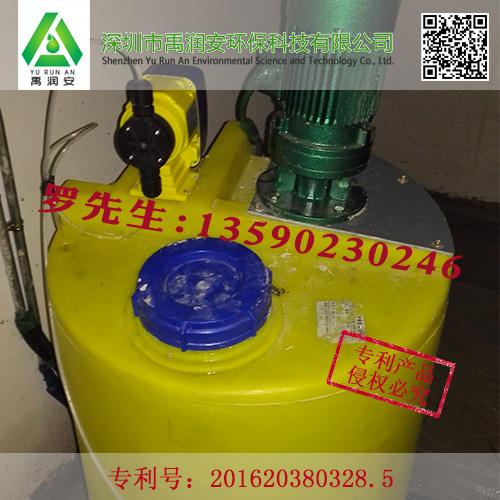 雨水收集系统中加药装置的工作原理